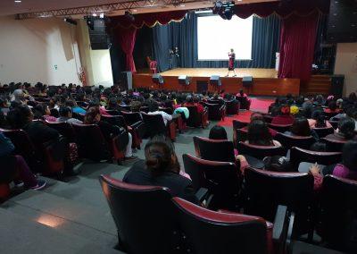 Lider Orador, Sales and Branding Conference for Low Income Women, Centro Cultural de Ate, Lima Peru (4)