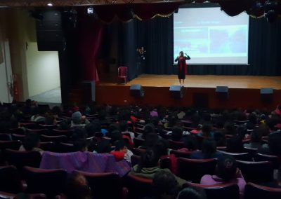 Lider Orador, Sales and Branding Conference for Low Income Women, Centro Cultural de Ate, Lima Peru