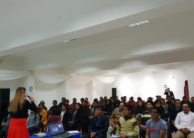 Lider Orador, Sales and Branding Conference for Low Income Women, Centro Cultural de Ate, Lima Peru. (2)