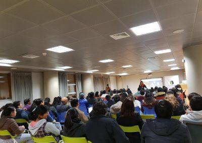 Lider Orador, Sales and Branding Conference for Low Income Women, Centro Cultural de Ate, Lima Peru.