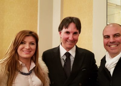 Lily with Dr Demartini - Human Behaviour Specialist who appeared in The Secret Movie