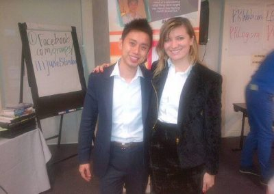 Lily with Peng Joon Internet Marketing Expert