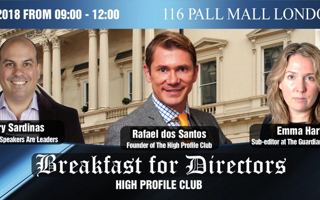 Breakfast For Directors