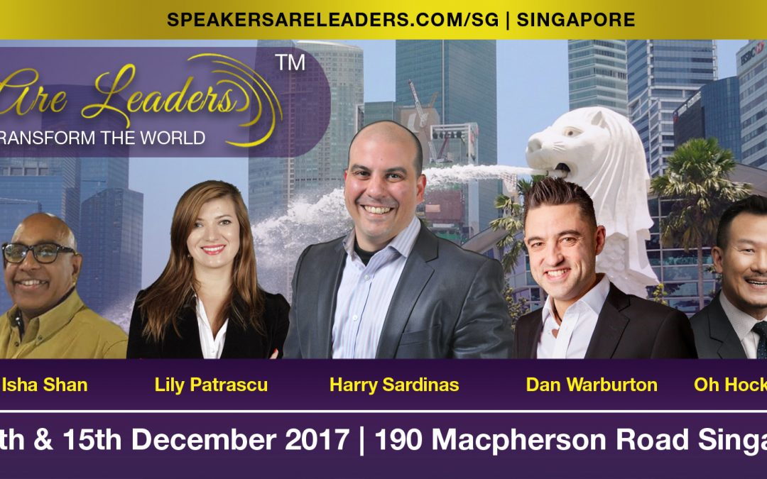 Speakers Are Leaders Singapore