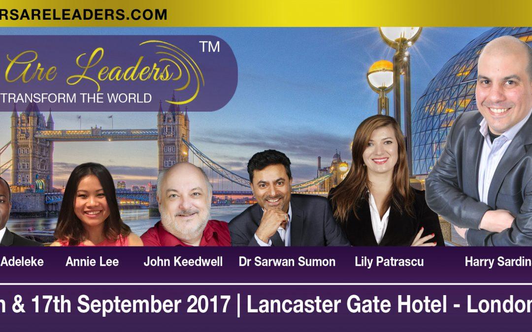 Speakers Are Leaders