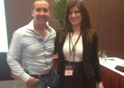 "Lily Patrascu With Nick Halik, the best selling author of the book ""The 5 Day Weekend"", The Thrillionaire Entrepreneurial Alchemist, Civilian Astronaut, Keynote Speaker."
