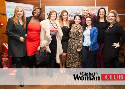 Lily Patrascu with Global Woman club founder Mirela Sula