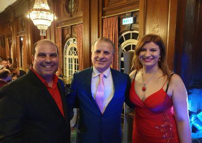 Lily Patrascu with Mahtab Aziz