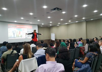 Lily Patrascu At Speakers Are Leaders 2018 Chamber of Commerce Singapore