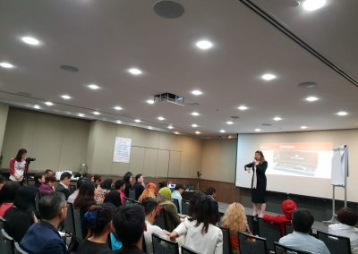 Lily Patrascu At Speakers Are Leaders Singapore