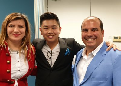 Lily Patrascu With Desmond Ong, Private Equity Investor and Online Marketing Expert