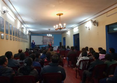 Youth Conference Chamber of Commerce Ayacucho Peru