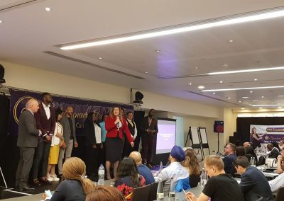 Lily Patrascu at Entrepreneurs Are Leaders London 2019