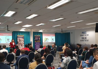 Lily Patrascu at Entrepreneurs Are Leaders Singapore 2019