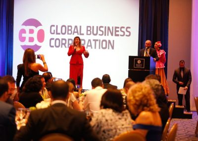 Lily Patrascu At Global Business Corporation Awards Mexico