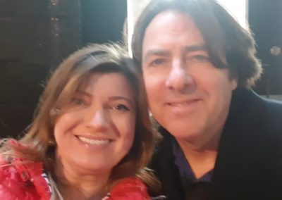 Lily Patrascu And Famous Comedian & BBC TV presenter Jonathan Ross