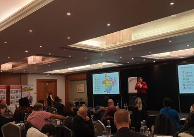 Lily Patrascu at the Exponential Business Growth Strategies Event