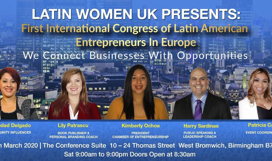 First International Congress of Latin American Entrepreneurs In Europe